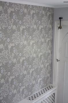 William Morris wallpaper Seaweed