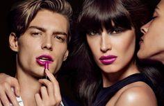 "Timothèe Bertoni, Sabrina Ioffreda & Dae Na by Tom Munro, TomFord""Lips & Boys"" Beauty Campaign 2014"