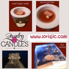 Earring reveal from Cinnamon Struesel tart. The rich, buttery aroma of freshly baked coffee cake with a cinnamon streusel topping is a bakery treat meant to be enjoyed anytime! Infused with natural essential oils, including cinnamon, cinnamon bark, clove, and nutmeg. www.lorisjic.com #jicrocks #candle #jewelry #homedecor #jic #jewelryincandles