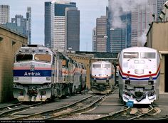 RailPictures.Net Photo: AMTK 393 Amtrak EMD F40PH at Chicago, Illinois by Frank Rizzo