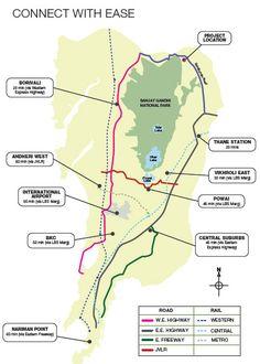 Godrej Properties Emerald Location map