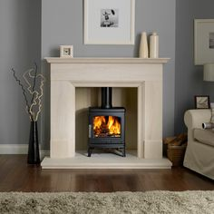 The ACR Oakdale SE Multi Fuel / Woodburning Stove has a output . The ACR Oakdale SE Multi Fuel / Woodburning Stove is DEFRA approved allowing you to burn wood with confidence in smoke controlled areas. The ACR Oakdale SE Multi Fuel Log Burner Living Room, Living Room With Fireplace, Home Living Room, Fireplace Surrounds, Fireplace Design, Fireplace Ideas, Wood Burner Fireplace, Multi Fuel Stove, Marble Fireplaces