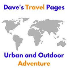 Dave's Travel Pages has been online since 2005, which makes it one of the most established and consistent travel blogs in the world. With a focus on urban and outdoor adventure, Dave shares his experiences, providing travel inspiration and information...