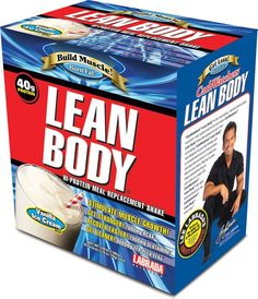 Labrada Lean Body Original MRP 20 Pack - Meal Replacement Powders (MRPs) - Protein - Sports Nutrition & More