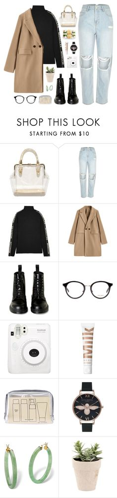 """""""#polypresents: wish list 5:39 p.m."""" by yuelle ❤ liked on Polyvore featuring River Island, Moncler, Yves Saint Laurent, Fuji, Muji, Olivia Burton, Palm Beach Jewelry, contestentry and polyPresents"""