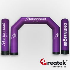 Event inflatable arches, lead time 15 working days, delivery to all Europe. Europe's manufacturer of inflatable sealed event arches. Inflatable Furniture, Logo Shapes, Bouncy Castle, Indoor Playground, Paris, Grand Opening, Arches, Seal, Advertising