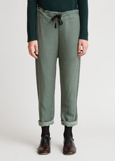Howlite Woman Trouser, Sycamore