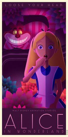 Alice au Pays des Merveilles #SmartphoneDessin
