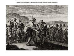 Abraham in the Bowyer Bible 11. Abraham and Lot. Luyken. Medhurst-Kossuth-Vere copy on Flickr.Abraham in the Bowyer Bible 11. Abraham and Lot. Luyken. Medhurst-Kossuth-Vere copy