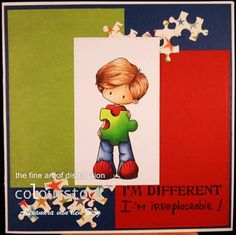 Copic Marker Benelux: I'm Different gemaakt door Alexandra