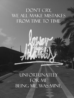 Lower Than Atlantis from the song 'Another Sad Song.' Image by myself, taken in Italy in October 2013. Kevin Prescott