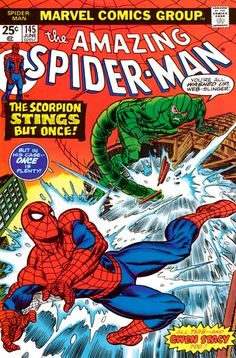 Vol 145 Comic Book (Mark Jeweler's Insert), VF June Marvel Comics Arte Dc Comics, Bd Comics, Univers Marvel, Marvel Comic Books, Comic Books Art, Comic Art, Book Art, Caricature, Comics Spiderman
