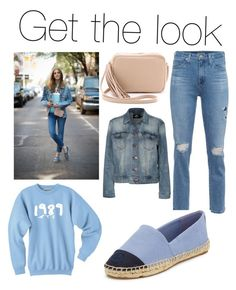 A fashion look from August 2015 featuring light blue top, blue jackets and blue jeans. Browse and shop related looks. Light Blue Top, Adriano Goldschmied, Get The Look, Blue Tops, Blue Jeans, Polyvore Fashion, Tory Burch, Fashion Looks, Denim