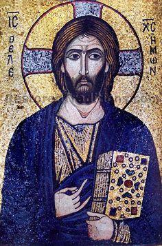 High Resolution Image of Christ Pantocrator