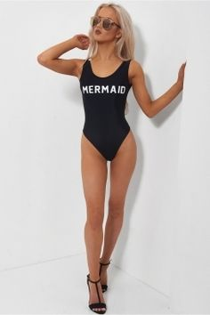 Black Mermaid Swimsuit