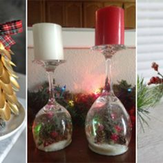 Transform dollar store items into Christmas decorations that look expensive.