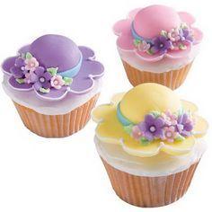 10 Ideias de como decorar cupackes para o dia das mães - Amando Cozinhar - Receitas, dicas de culinária, decoração e muito mais!