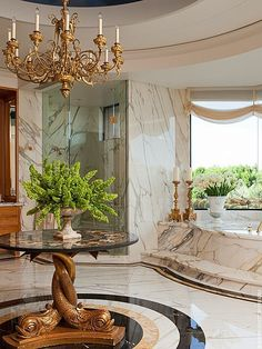 View this Great Traditional Master Bathroom with Chandelier & frameless showerdoor by David Scott. Discover & browse thousands of other home design ideas on Zillow Digs. Dream Bathrooms, Beautiful Bathrooms, Elegant Homes, Bath Design, Bathroom Interior Design, Master Bathroom, Master Baths, Washroom, Luxury Interior