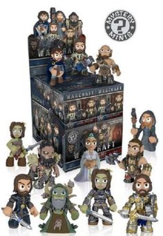 Warcraft, come these well-designed 2 1/2-inch tall mini figures of your favorite characters. The Warcraft Mystery Minis Display Case includes 12 individually blind boxed mini figures. Can't get enough of the World of Warcraft? Well you're in luck, because there are a number of different character designs in the series! Characters featured in the line include Garona, Durotan, Lothar, and more! #funko #popvinyl #actionfigure #collectible #Warcraft #MysteryMinis
