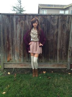 eb983c5a9 34 Best Knee high socks outfit images