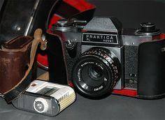 Praktica Nova 1 PL Binoculars, Cameras, Nova, Hardware, Camera, Computer Hardware, Film Camera
