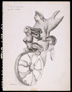 Leonora Carrington, 'I am an Amateur of Velocipedes' 1941