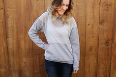 Lace Free Hoodie Pattern | AllFreeSewing.com