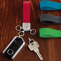 Silicone Easy Release Keychain   $14.99 @The Container Store #StockingStuffers