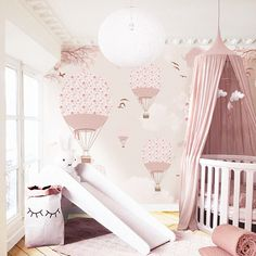 Little Hands Wallpaper Baby Bedroom, Nursery Room, Boy Room, Girl Nursery, Girls Bedroom, Nursery Decor, Kids Room, Little Hands Wallpaper, Lily Wallpaper