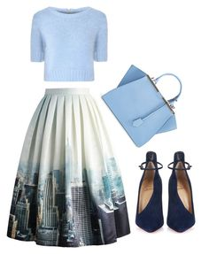 """Untitled #1918"" by yourmajestyjordine ❤ liked on Polyvore featuring moda, Chicwish, Glamorous, Christian Louboutin y Fendi"