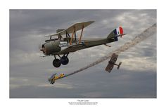 "Pacific Victory Roll - Aviation Art - WWI ""Trump Card"" by Mark Donoghue Trump Poster, Plane And Pilot, First Knight, World War One, Aviation Art, Military Art, Wwi, Military Aircraft, Trump Card"