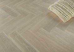Natura Oak White Herringbone Engineered Parquet Floating Floor, Engineered Wood Floors, Herringbone, Tile Floor, Flooring, Basement, Easy, Home Decor, Root Cellar