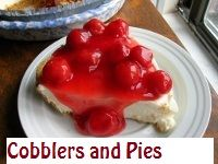 Cobbler and Pie Recipes from The Southern Lady Cooks