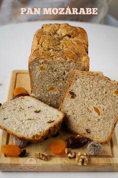 Pan Mozárabe o Pan de Frutos Secos #Panificadora #SilverCrest