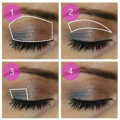 Ideas for Brown Eyes Makeup Step by Step | blushing basics: Eye Makeup Tutorial {Step-by-Step}