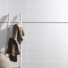 Faïence mur blanc, Basic l.20 x L.50 cm