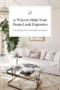 The best ways to make your home look expensive Home decor tips and tricks - diy home decoration tips - home decor tips interiors - home decor tips budget - chic home decor - minimalist decor - white home decor Decor, Home Decor Inspiration, House Design, White Home Decor, Home Look, Minimalist Decor, Home Decor, Expensive Houses, Chic Home Decor
