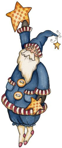 IMAGENS DE NATAL - Silvia - Picasa Web Albums - Santa hanging on a star