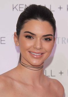 Kendall Jenner at the 2016 Kendall + Kylie luncheon at Nordstrom.