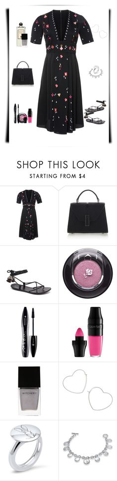 """That Dress,Though."" by sereneowl ❤ liked on Polyvore featuring Temperley London, Serge Lutens, Valextra, Lancôme, Witchery, Miss Selfridge and Hargreaves Stockholm"