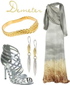 """""""Demeter (Greek Gods and Goddesses)"""" by turquoiseivy on Polyvore"""