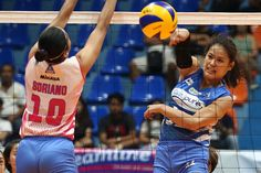 The BaliPure Purest Water Defenders defeated Creamline Cool Smashers with the heroic scoring of Risa Sato in the Premier Volleyball League held at the Filoil Flying V Centre in San Juan on Tuesday. Defenders, Volleyball, Tuesday, Centre, Pure Products, Cool Stuff, My Love, Amazing, Water