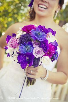 Bridal Bouquet #purple #blue,  Go To www.likegossip.com to get more Gossip News!