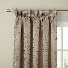 28296e2424ae Buy John Lewis Botanical Field Lined Pencil Pleat Curtains Online at  johnlewis.com