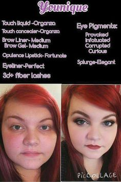 Look at the difference Younique makeup can do.  What can our products do for you ?  www.youniqueproducts.com/Lusiouslashes68