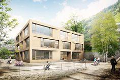 «Das Haus ist wie ein Dorf» Schulhaus Engelberg, bgm Architekten