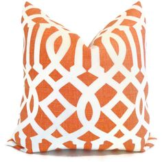 Kelly Wearstler Mandarin Imperial Trellis Pillow Covers Square, Eurosham or Lumbar Pillow, Throw Pillow, Toss Pillow by PopOColor on Etsy https://www.etsy.com/listing/99415260/kelly-wearstler-mandarin-imperial