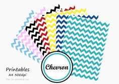 Free printable - Chevron