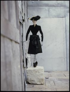 David Seidner: Paris Fashions, 1945 | Balenciaga - International Center of Photography