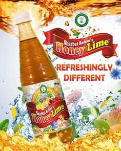 #‎Sharbat‬ Rehan new flavor honey lime is a best way to instant source of energy after a hard day's work/heavy workouts.. Contact here for Instant Purchase 9811487867